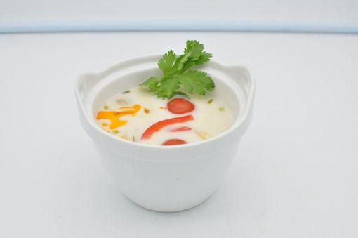 Image de S3 - Tom Kha Kaï (soupe de poulet au lait de coco et galanga)