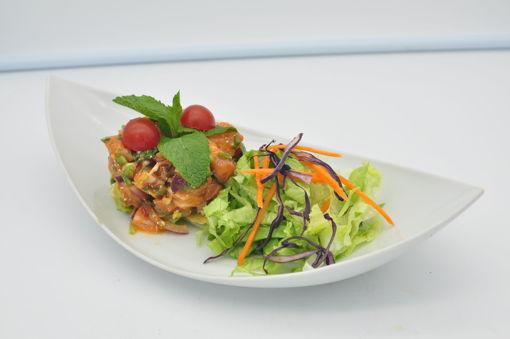 Image de S7 - Lap Pla Saumon (tartare de saumon thaï)