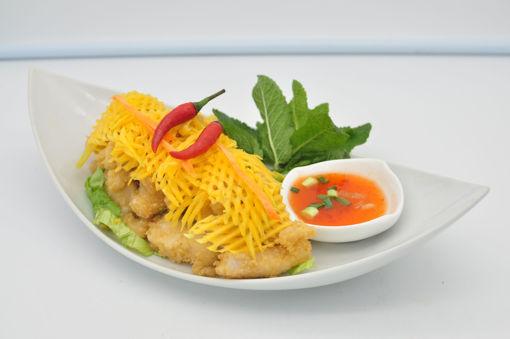 Image de S10 - Yam Pra Thord (salade poisson panés à la mangue vert)