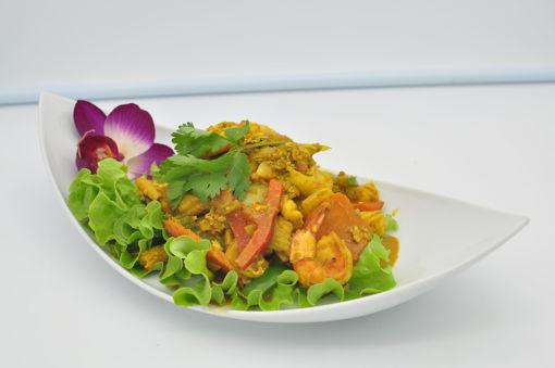 Image de P7 - Phad Phong Curry ( sauté au curry jaune)