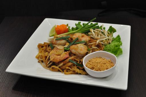 Image de P16 - Phad Thaï (pâtes de riz sautée)