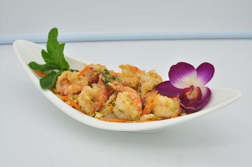 Image de P25 - Crevettes sautee au poivre et sel
