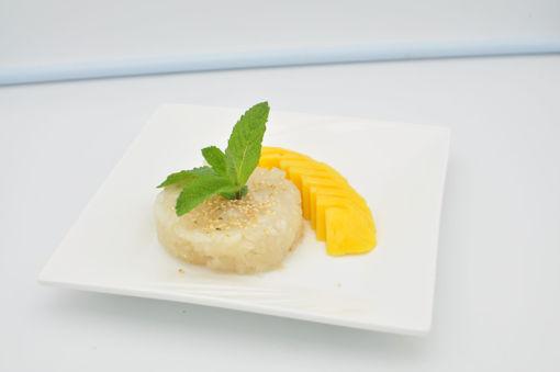 Image de D11 riz gluant au lait coco à la mangue mûre