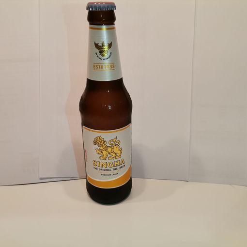 Image de Bière Thaï Singha 33 cl